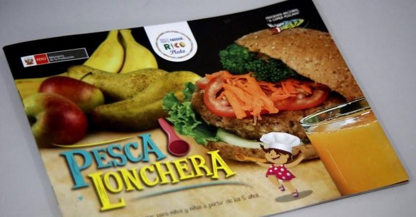 Recetario propone 10 loncheras económicas y nutritivas en base a pescado - www.acomerpescado.gob.pe