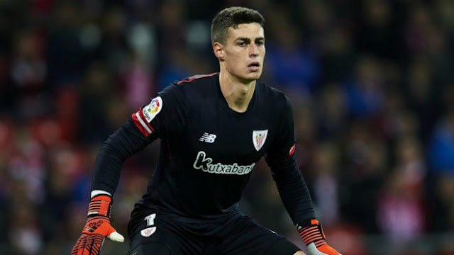 Chelsea trigger £71.6m release clause for young but very, very good goalkeeper.