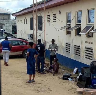 Police rescue alleged thief from being set ablaze in Calabar