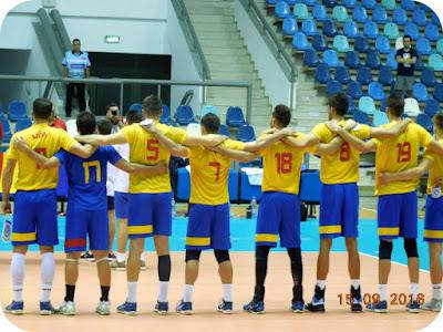 Romania - Macedonia 3 : 0 la volei