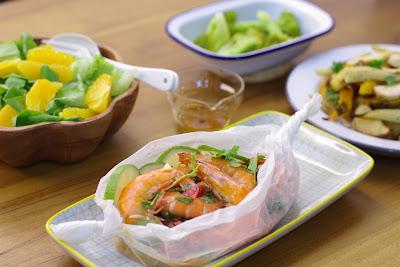 海鮮霸馬來西亞生白蝦