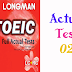 Listening LongMan New Real TOEIC Full Actual Test 02
