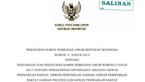Download PKPU RI Nomor 4 Tahun 2019