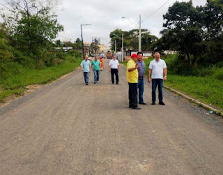 Prefeitura de Registro-SP inicia obra de pavimentação de Rua no Jardim Paulistano
