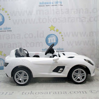 Junior DMD158 Mercedes Benz SLR Lisensi Rechargeable-battery Operated Toy Car