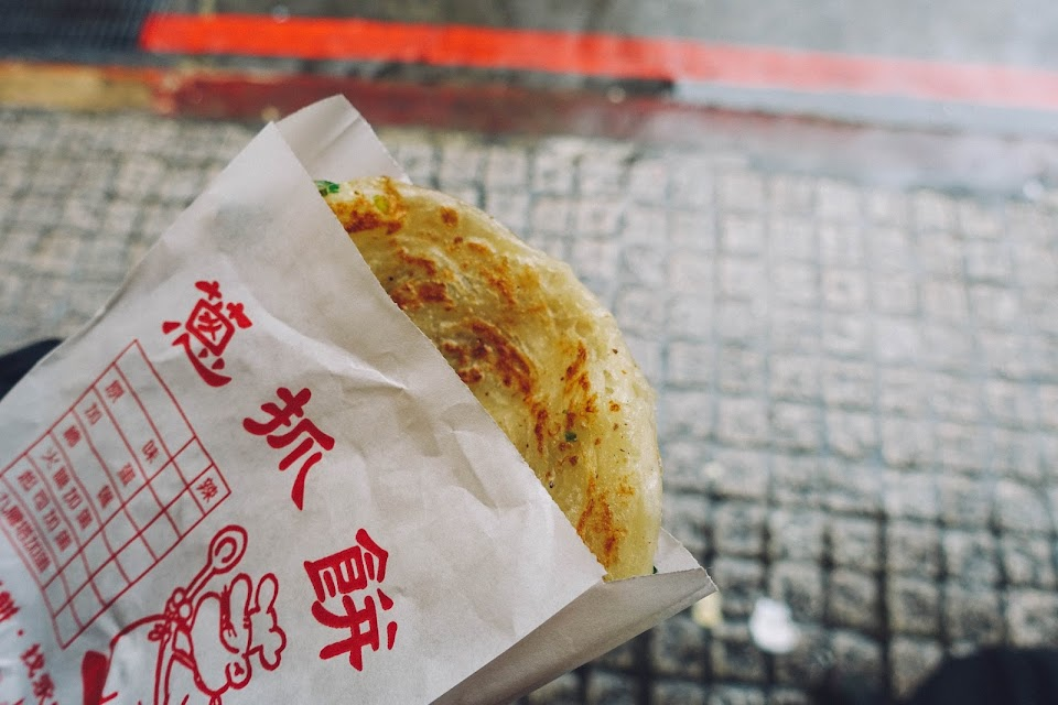 天津蔥抓餅(Tianjin Scallion Pancake)