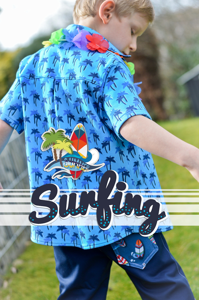 Let's Go Surfing !? - Die Surfing Stoffe habe ich exklusiv für das neue Klimperklein-Buch entworfen