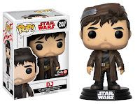 Pop! Star Wars: The Last Jedi - DJ (GameStop)