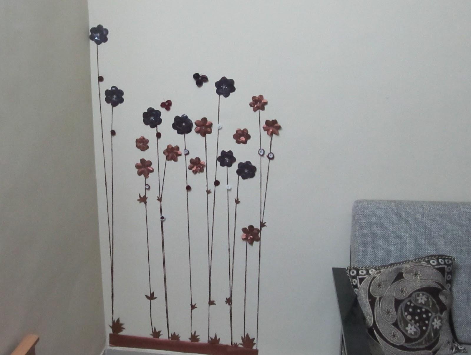 Paper Flower wall decor.