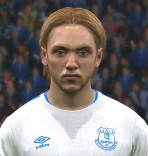 PES 2017 Faces Tom Davies by FaceEditor Jefferson_SF