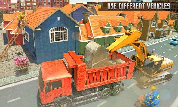 Capital City Building Mega Apk - Construction Games