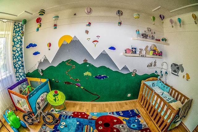 Babyzimmer Monster Design Junge