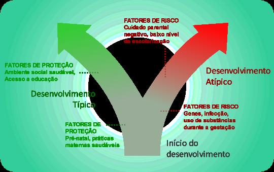 Fatores de risco e de proteção em desenvolvimento típico e atípico