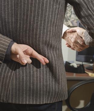 Mentiras contadas em entrevistas de emprego