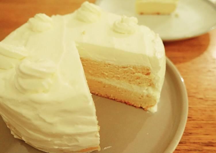 Cara Mudah Membuat Vanilla Sponge Cake Kuliner Dapur