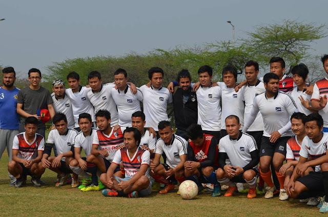 GYASA FC for wins friendly football match against HMAR FC