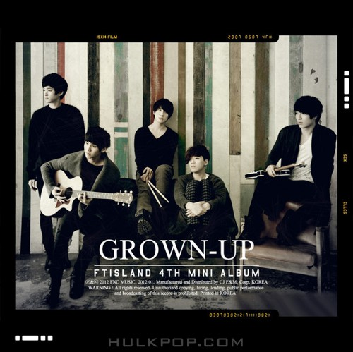 FTISLAND – Grown-Up – EP (ITUNES PLUS AAC M4A)