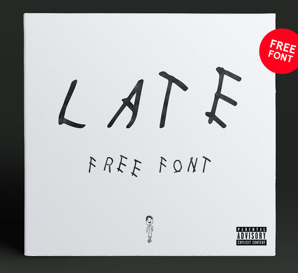 Font Terbaru Untuk Desain Grafis - Late Regular Free Font