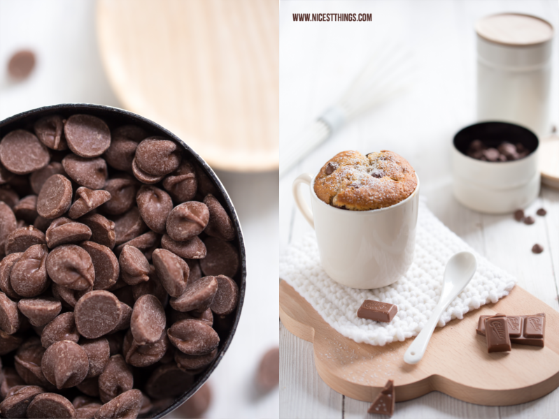 Chai Tassenkuchen Rezept Schokolade Mug Cakes