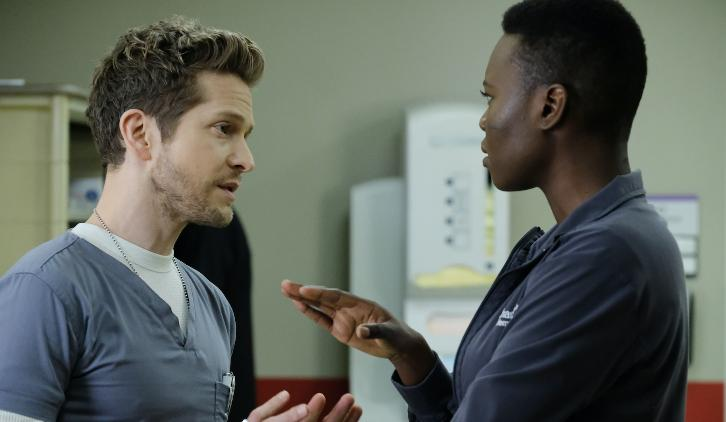 The Resident - Episode 1.14 - Total Eclipse of the Heart (Season Finale) - Promotional Photos + Press Release