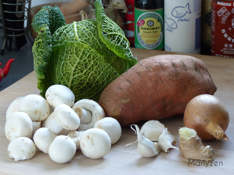 Préparez les légumes.
