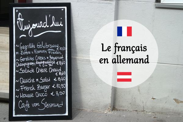 mots français allemand vienne expatriation