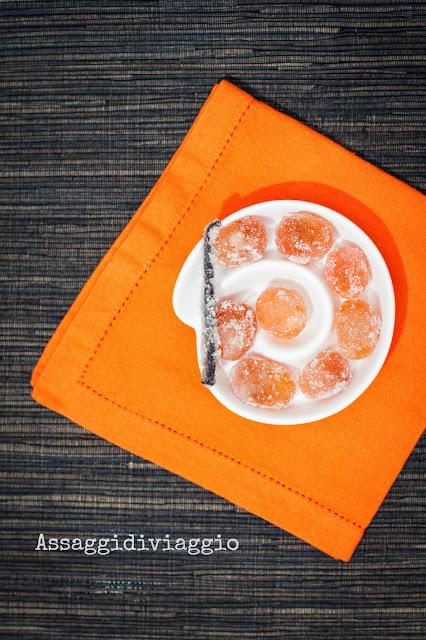 kumquat cristallizzati alla vaniglia