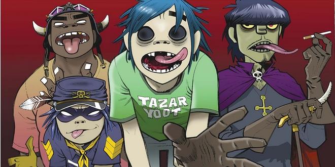 Gorillaz vai ganhar série animada!