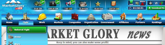 Fight Refferal Untuk mendapatkan IDR - MarketGlory