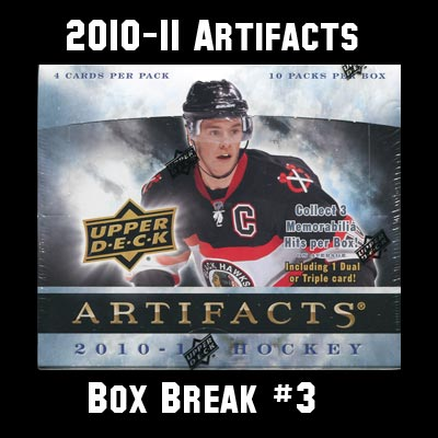 2010-11 Artifacts Box Break #3