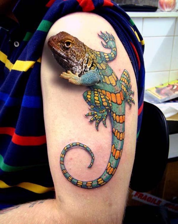 Tattoos Design Ideas: 32 Best Realistic 3D Tattoos Design Ideas for ...