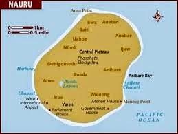 Peta Negara Nauru