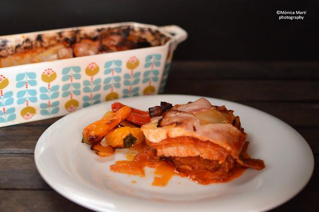 Pastel De Pollo Con Bacon Y Patatas
