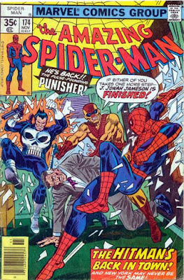 Amazing Spider-Man #174, the Punisher and the Hitman