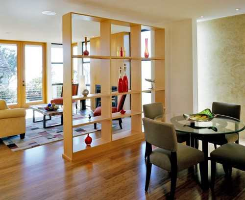 10 Creative Examples For Dividing Small Spaces: KeralaArchitect.com: How To Stylishly Divide A Common Hall