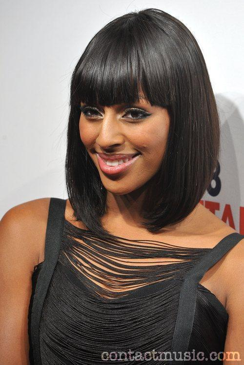 Celebrity Hairstyles And Tattoo Pictures Alexandra Burke