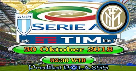 Prediksi Bola855 Lazio vs Inter Milan 30 Oktober 2018