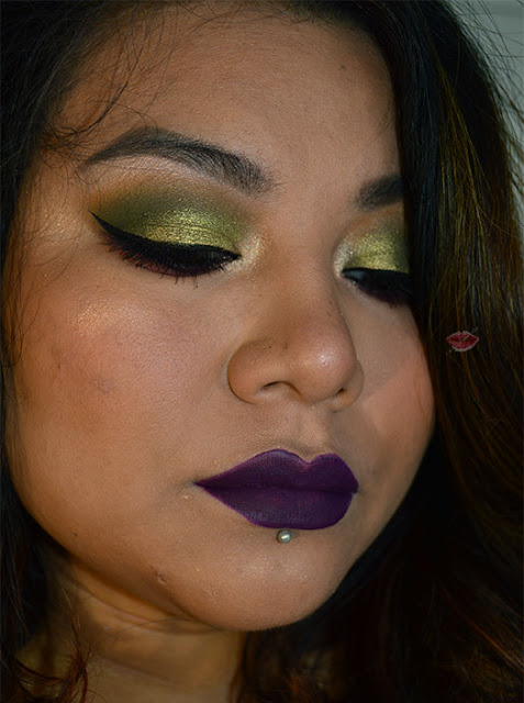 Foto di un trucco con la On The Rocks palette di W7 acquistata su Maquillalia