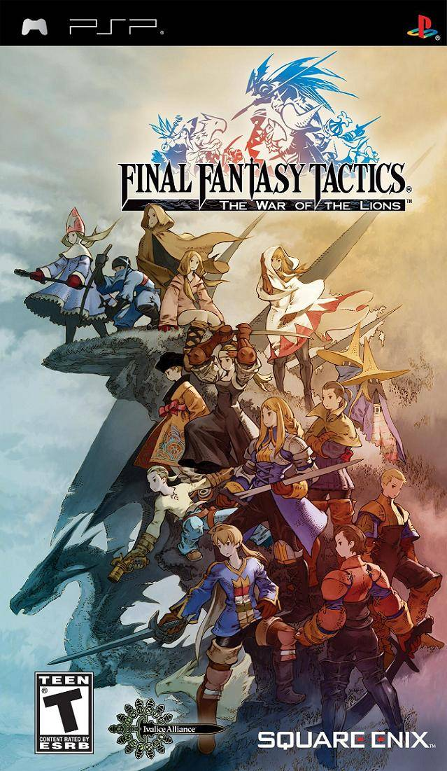 ROMs - Final Fantasy Tactics - The War of the Lions (Português) - PSP Download