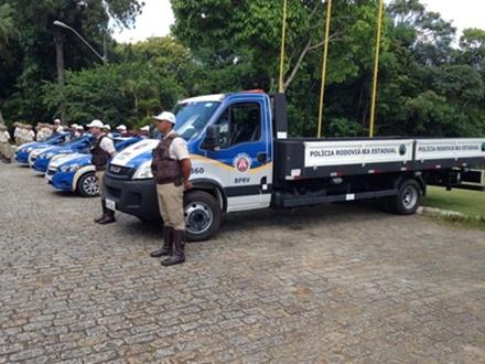Batalhão Rodoviário da PM da Bahia ganha quatro novas viaturas