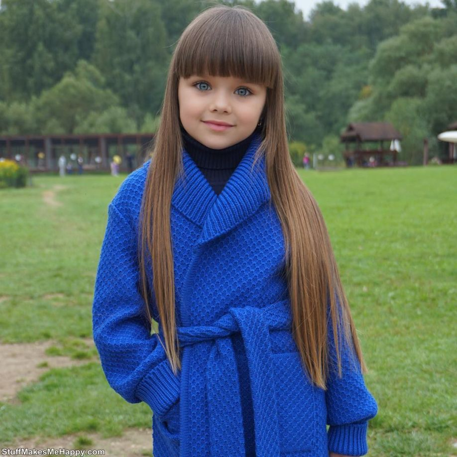 The Most Beautiful Girl in the World 'Anastasia Kniazeva in Photos'