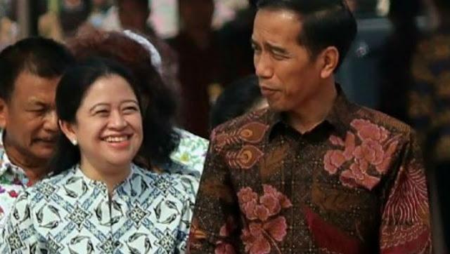 Sekarang Relawan Jokowi Dorong Puan Jadi Cawapres