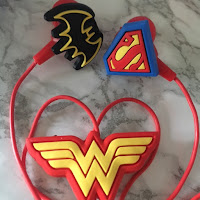 DC Super Hero Girls Headphones