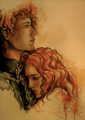 Annie Cresta & Finnick Odair (The Hunger Games) by Suzanne Collins