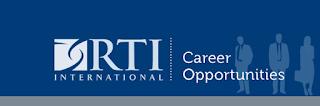 RTI International Recruitment 2018
