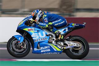 Alex Rins Qatar 2018