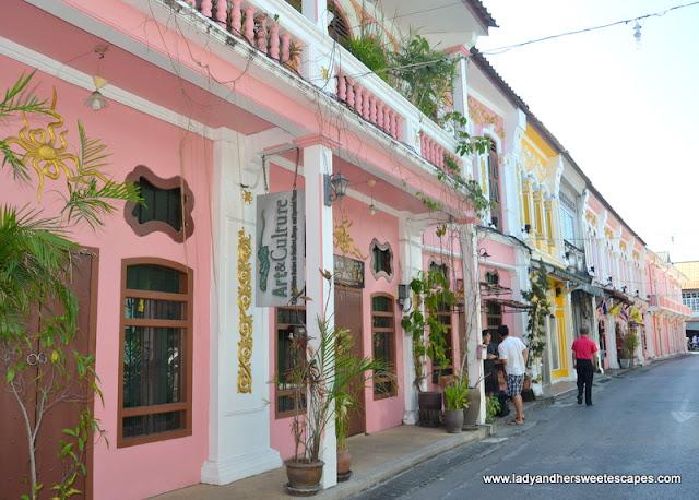 Sino-Portuguese architecture in Phuket