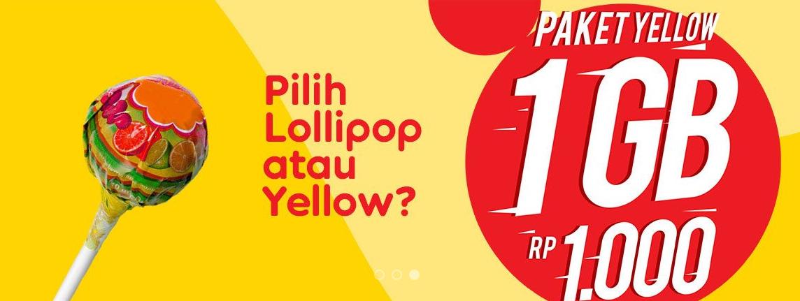 Cara Daftar Dan Berhenti Paket Yellow Indosat