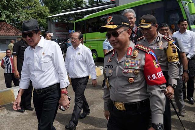 Kemenkum HAM Bangun Lapas Supermaksimum Security di Nusakambangan