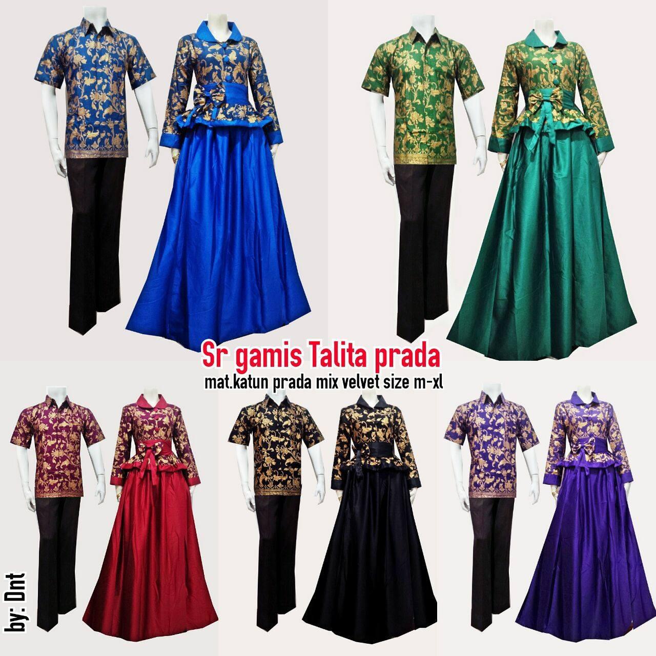Batik Bagoes Solo Model Baju Gamis Batik Sarimbit